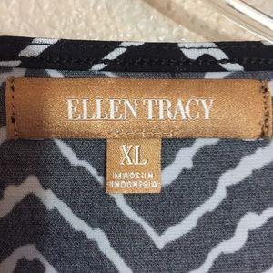 Ellen Tracy Tops - Ellen Tracy the front blouse size XL EUC